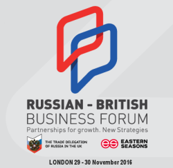 Russian-British Business Forum «Partnerships for growth. New strategies»